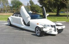 Plymouth Prowler - Custom Limo. Haha! Combines 2 of my fantasies into 1 ;)