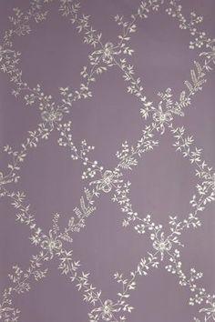 Toile Trellis is based on an original 18th century fabric design.