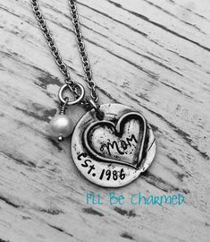 Hey, I found this really awesome Etsy listing at https://www.etsy.com/listing/231339392/hand-stamped-personalized-jewelry-mom