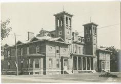 Ladies Hall -- 1871-1927 -- one of the first major University buildings to disappear from campus.
