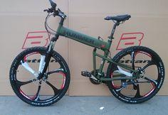 26インチアルミ折りたたみ自転車フレームマウンテン自転車21速度ディスクブレーキ背の高い男mtbバイク4色選択