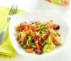 salade boeuf quinoa