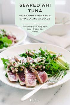 Tuna Recipes, Avocado Recipes, Seafood Recipes, Dinner Recipes, Cooking Recipes, Healthy Recipes, Dinner Ideas, Kale Recipes, Skinny Recipes