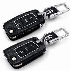 880cbbc53e9f   18% OFF   Leather Car Remote Key Cover For Volkswagen Vw Polo Tiguan Golf