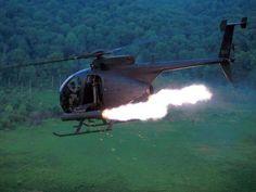 American & Military Love: MH-6 Little Bird, big hit.