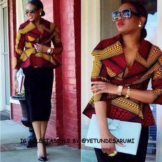 fashion+police+nigeria+african+prints | 2015 African Fashion | Chic & Classy Ladies Wear
