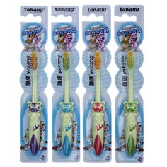 5PCS Kids Children Soft Toothbrush For Tooth Brushes Brush Teeth Baby Teething Care Toothbrushes Newborn Babies 2015 Hot Sale
