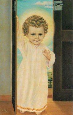 nagyon aranyos Jézus ezen a képen kb 2 éves