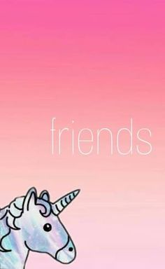 Resultado de imagem para wallpapers tumblr para melhores amigas de unicornio