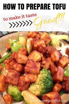 How to Prepare Tofu to Make It Taste Good | www.mommyandlove.com