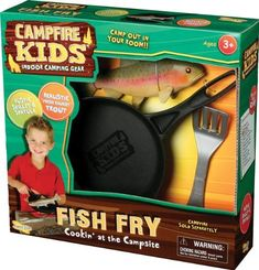 Pin It :-)  Follow Us :-))  zCamping.com is your Camping Product Gallery ;) CLICK IMAGE TWICE for Pricing and Info :) SEE A LARGER SELECTION of camping games at http://zcamping.com/category/camping-categories/camping-games/ - hunting, camping, camping games, camping gear, camping accessories -  Campfire Kids Fish Fry – Trout « zCamping.com