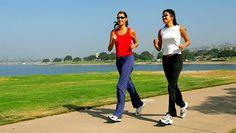 Caminhada, trote e corrida