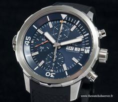montre de plongée IWC Aquatimer IW376805 - SIHH 2014