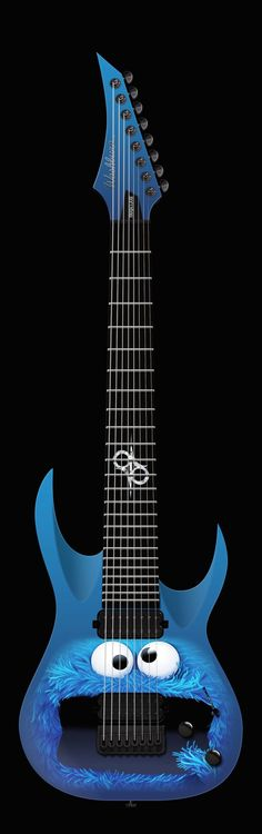 COOOOOOKIE!!!!!! Dundundundundundundun COOOOOOKIE!!!!!! Ok you get the point. Metal Cookie Monster 8 string.