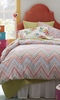 Zoey Percale Little Girls Bedding #kids #rooms