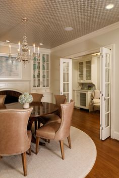 Deluxe in Alexandria - traditional - dining room - dc metro - Erin Hoopes