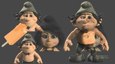 The Smurfs 2 - Azrael Animation Shot Build :: by ImageworksVFX