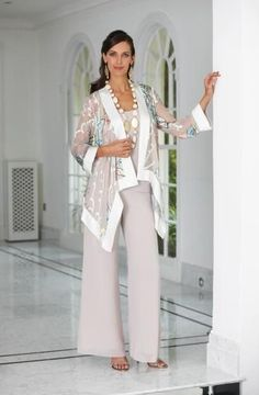 Stylish Las Trouser Suit For Wedding In Uk