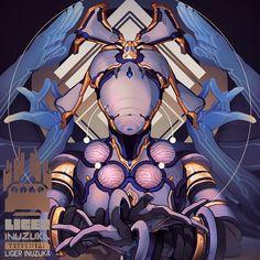ArtStation - Warframe: Asuri Nova Prime, Liger Inuzuka