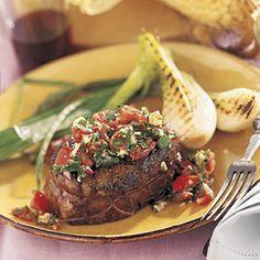 Filet Mignon with Horseradish Salsa