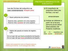 Imperfecto de subjuntivo: formas y uso