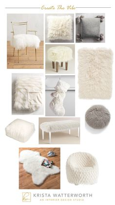 Adding faux fur accents to your home by Krista Watterworth Alterman