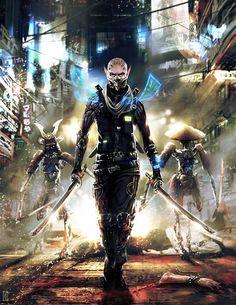 Assassin Rigger from Shadowrun Rigger 5.0 Art by Benjamin Giletti