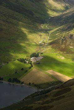 Gatesgarth by Nick Landells, via Flickr, Lake District, UK