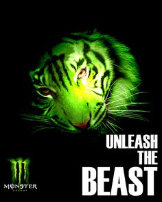 Monster energy drink ad