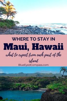 Where should I stay in Maui? Read on for detailed descriptions of the best area to stay in Maui Hawaii based on your preferred vacation style. Tons of travel guide tips for Hawaii Winter Travel, Summer Travel, Hawaii Travel, Weekend Vacations, Weekend Trips, Best Winter Destinations, Travel Destinations, Visit Hawaii, Maui Hawaii
