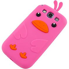 Cute #Duck Cover Case for #Samsung Galaxy S III, Hot Pink $12.99 From #DayDeal
