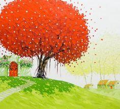 (Vietnam) by Phan Thu Tran. Oil on canvas.