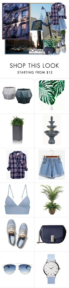 """""""Blue Shorts with Romwe - Contest!"""" by asia-12 ❤ liked on Polyvore featuring Röshults, Rails, T By Alexander Wang, NDI, Keds, Marc Jacobs and Christian Dior"""