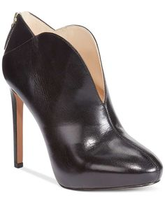 Nine West Nero High Heel Shooties - Boots - Shoes - Macy's Womens Clearance, Clearance Shoes, Bootie Boots, Shoe Boots, Stiletto Heels, High Heels, Nine West Shoes, Black Booties, Shoe Sale