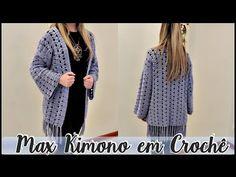 A artesã Diane Gonçalves ensina a confeccionar um Maxi Kimono com Barroco Maxcolor.