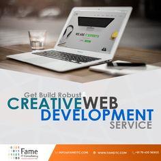 Get Build Robust & Creative Web Development Services