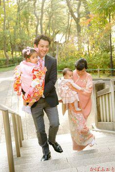 七五三の出張撮影 @千葉県千葉市・稲毛浅間神社