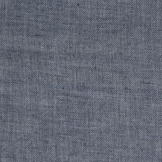 Blue Chambray Year-Round Cotton Flannel - Fashion Fabrics