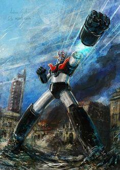 Gundam and Other Mecha Arts by Andrea Gatti Gundam, Transformers, Manga Art, Anime Art, Battle Robots, Robot Cartoon, Japanese Robot, Japanese Superheroes, Vintage Robots