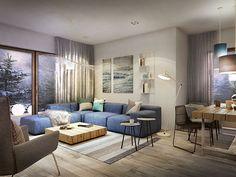 mieszkanie 100m2 – Bydgoszcz « razoo-architekci