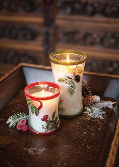 Świece świąteczne  / Christmas candles Wood Wick  Frasier Fir, Cinnamon Cheer