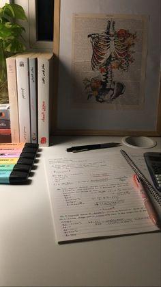 Study Desk Organization, School Organisation, School Study Tips, Study Space, Study Hard, Study Notes, Student Life, Study Motivation, Lifestyle