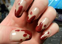 Y Nails...Why Not?: Prabal Gurung Blood Spatter