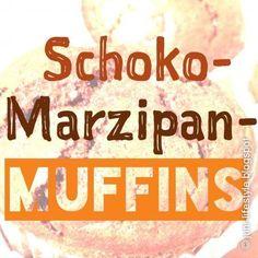 Schoko-Marzipan-Muffins
