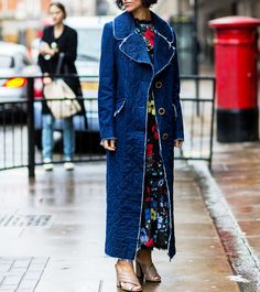 12 Cool, New Ways to Wear Denim, Straight from the Street Style Stars - Into the Fray  - from InStyle.com