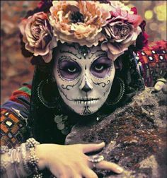Day of the Dead X girlfriend Halloween Skull, Halloween Make Up, Halloween Costumes, Skeleton Costumes, Skeleton Makeup, Halloween Skeletons, Vintage Halloween, Sugar Scull, Sugar Skull Art