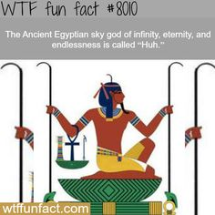 Huh, the ancient Egyptian sky god - WTF fun fact