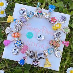 Pandora Heart Bracelet, Disney Pandora Bracelet, Pandora Jewelry, Disney Couture Jewelry, Disney Jewelry, Cute Bracelets, Fashion Bracelets, Beaded Bracelets, Pandora Collection