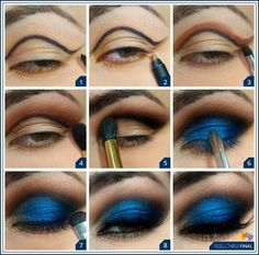 nice breakdown. makeup for bellydance.
