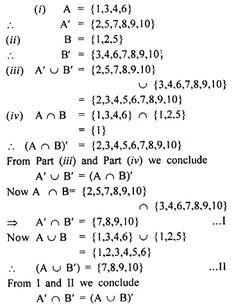 Selina Concise Mathematics Class 8 ICSE Solutions Chapter 6 Sets - CBSE Tuts Empty Set, Composite Numbers, Discrete Mathematics, Natural Number, Maths Exam, Prime Numbers, Class 8, Thing 1, Lettering